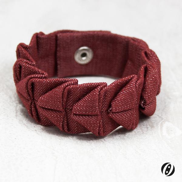 Armband-Bordeaux-Dunkel