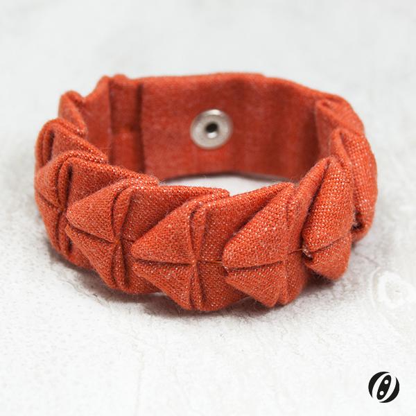 Armband-Orange-Dunkel